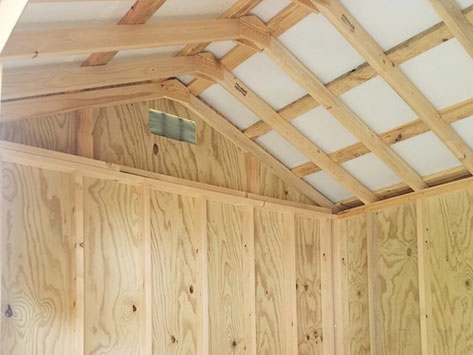 2x4 ceiling trusses 16 on center